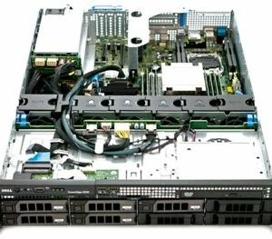 DELL PowerEdge R520 8xLFF / 2 x E5-2470 / 4 x 16GB / H710p Mini 1GB / 2 x 750W
