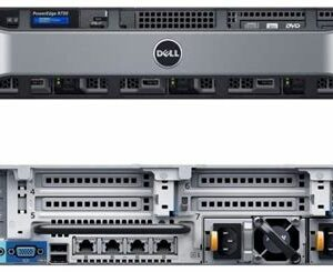 DELL PowerEdge R730 8xLFF / 2 x E5-2640 v3 / 6 x 16GB 2133P / H330 Mini / 750W